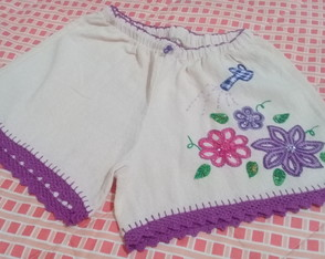 Short adulto bordado PP ( 10 )