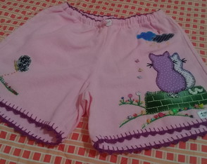 Short adulto bordado PP ( 11 )
