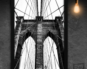 Brooklyn Bridge NY P&B - A4
