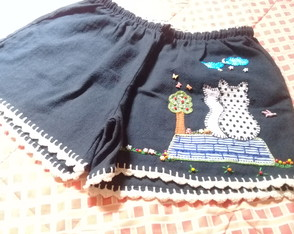 Short bordado adulto M ( 21 )