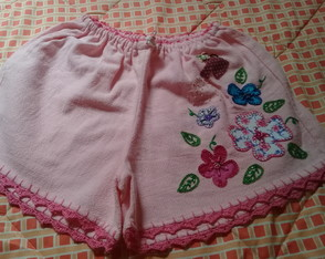 Short adulto bordado M ( 24 )