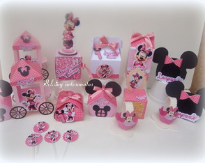 Kit Minnie rosa 4