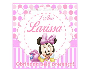 Tag Minnie Baby Disney