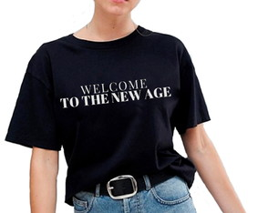 Camiseta Unissex Welcome to the new age cod132