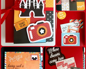 Álbum Scrapbook Disney