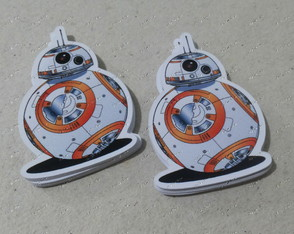 Aplique 4 cm Star Wars - BB8