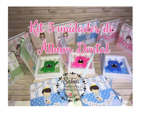 5 Kits Álbum Dental