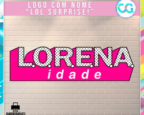Logo com nome - LOL Surprise!