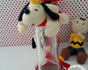 tubetes snoopy _ Peanuts - lembrancinhas do snoopy biscuit