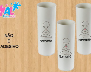 Copos Long Drink Personalizados 350ML - Namaste