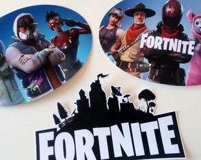 Placas Decorativas - Fortnite