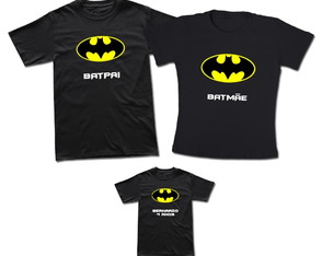 Kit 4 Camisetas Super Herói Batman T-shirt Adulto Batman