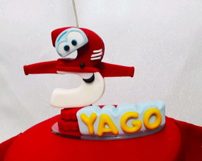 Vela Personalizasa Super Wings