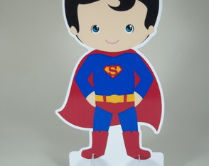 Totens de Mesa Superman Cute
