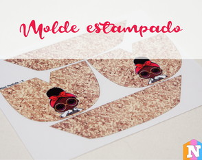 Molde estampado - LOL Fashion