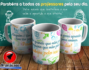 Caneca Dia do Professor MOD22