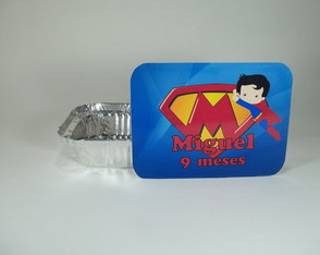 Marmitinha Personalizada Superman Kid