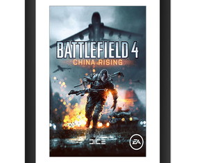 Quadro Battlefield 4 Chine Rising Video Game Jogos Serie