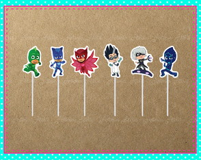 Topper Doces PJ Masks