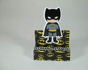 Porta Chocolate Duplo Batman Cute