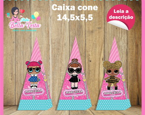Caixa Cone LOL Surprise