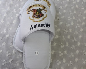 Pantufa Personalizada - Harry Potter