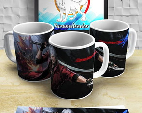 Caneca do Dante Dmc4