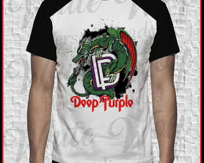 Camiseta do Deep Purple