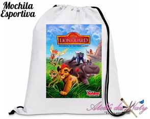 Mochila Esportiva - Guarda do Leão