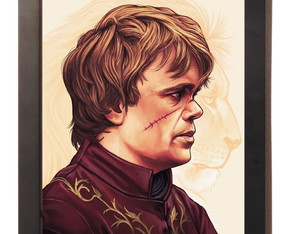 Quadro Poster Com Moldura Tyrion Lannister Game Of Thrones