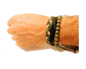 Pulseiras Masculinas Military Camouflage