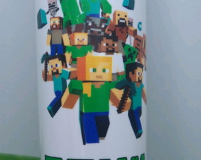 Copos long Drink Minecraft
