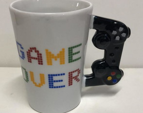 "Caneca Video Game - "" Game Over """