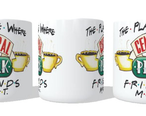 Caneca Central Perk - Friends