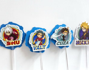 Tags / Toppers Beyblade