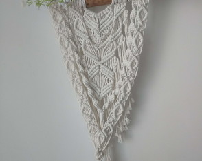 Painel em macrame (Wall Hanging)