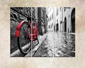 Painel Decorativo Urbano Red