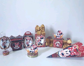 Kit Personalizados Luxo - Minnie