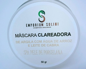 Máscara Facial Natural De Argila Branca