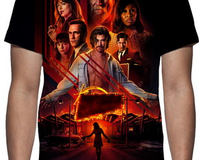 Camiseta Série Bad Times At The El Royale - Estampa Total