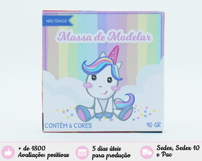 Massinha Personalizada