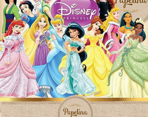 Papel Digital Princesas Disney