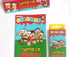 Kit Colorir - Turma da Mônica