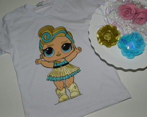 LOL- SURPRISE LUXE- camiseta pintada (sem nome)