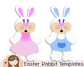 Waster Rabbit Templates by Simone Rocha