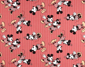 Mickey e Minnie retrô