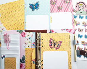(ARQUIVO DIGITAL) KIT PLANNER BUTTERFLY A5