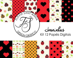 KIT PAPEL DIGITAL JOANINHAS