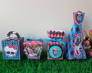 Kit festa Monster High - 4 itens