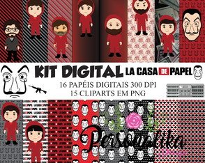 KIT DIGITAL LA CASA DE PAPEL